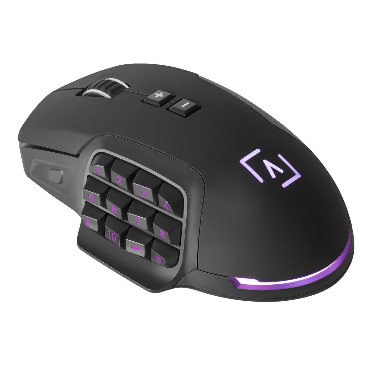 El ratón AIM cuenta con un exclusivo sistema de personalización total de botones y peso. Además cuenta con un potente software de control e iluminación RGB 😎 🌟 http://aimgaming.eu/tienda/raton-aim/…