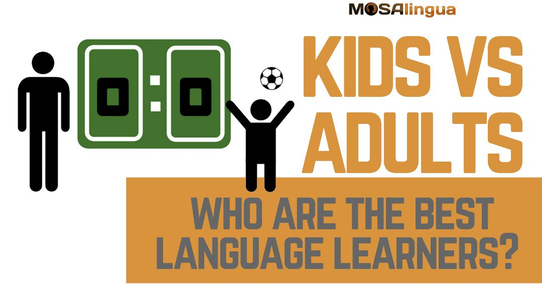 Children or Adults: who are the best language learners? We tried to answer this question here ow.ly/sDP150ubZv0 #video #languagelearning