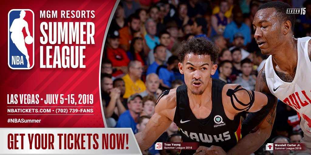 a9be95338daf Tickets are NOW ON SALE for the MGM Resorts  NBASummer League taking place  July 5-15 in Las Vegas  http   ow.ly Pklt30oK3sg pic.twitter.com 7Mng1IiELK