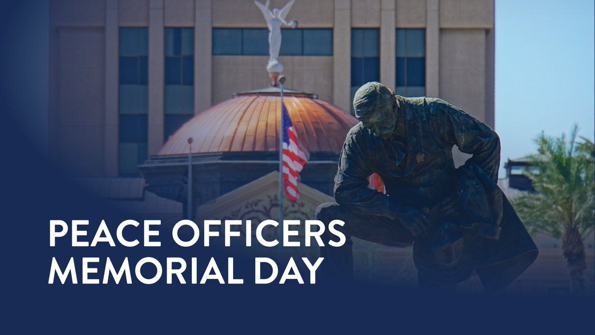 Today, we remember:   Trooper Tyler Edenhofer Nogales PD Officer Jesus Cordova US Deputy Marshal Chase White Phoenix PD Officer Paul Rutherford Salt River Officer Clayton Townsend  #PeaceOfficersMemorialDay  @Arizona_DPS @NogalesPoliceAz @USMarshalsHQ @phoenixpolice<br>http://pic.twitter.com/UHhJGXEedd