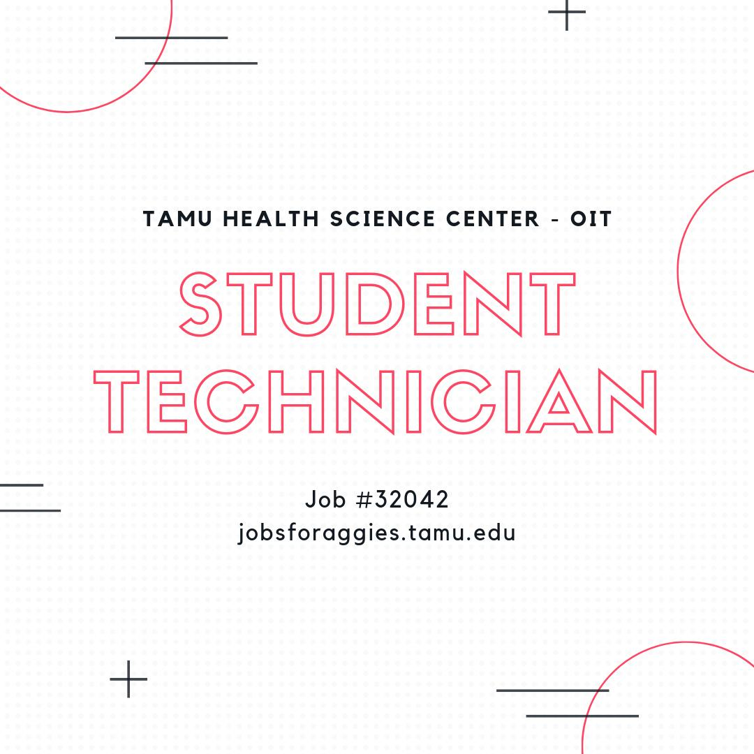 The IT Department In One Or More Areas Of Specialization Consider Applying To Job 32042 On Jobsforaggiestamuedu Pictwitter GHSAeZGRXn
