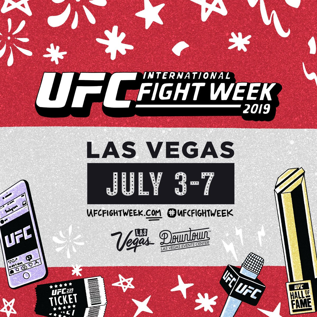 The biggest week of the year is coming up!  Sign up for #UFCFightWeek ➡️ http://www.ufcfightweek.com