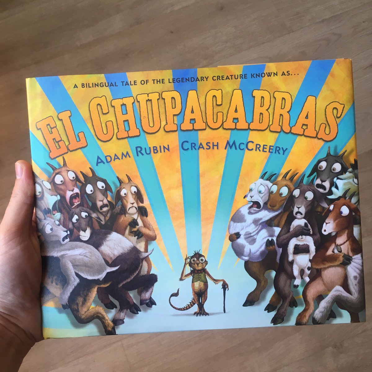 My bilingual book _El Chupacabras_ was nominated for a 2019 Texas Bluebonnet Award! ¡Que honor! Only 20 books are nominated and student votes determine the winner next year. Thank you @TBABooks and @TXLA for organizing such an epic state-wide reading initiative.