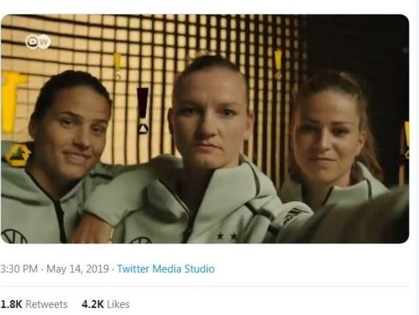 Germany's Women's World Cup squad announcement has gone viral.Read all about it 👉https://bbc.in/2WIHVsi  #changethegame