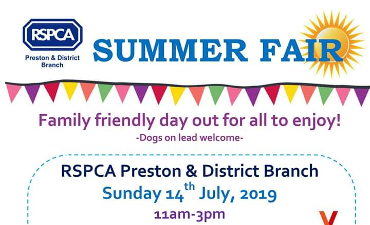 We are having a Summer Fair on 14th July!! All dogs are welcome to our fair. Lots of activities to take part it! And we are still looking for some more stalls, if your interested drop us a DM #summerfair #WoofWednesday #rescue #rspca