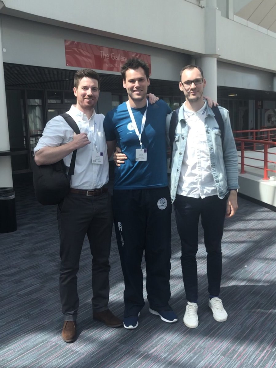 3 years ago @TPMPodcast brought on three apprentices to help produce student &amp; new graduate material.  They very quickly became full members of the team then comfortably overtook me in terms of thinking! (Low bar...)  Pleasure to spend today with two of not on TPMP duty!  <br>http://pic.twitter.com/OHD5R9LW21