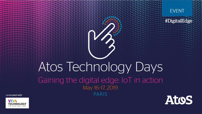 Don't miss the chance to watch Atos Technology Days. Stay tuned and follow @Atos...