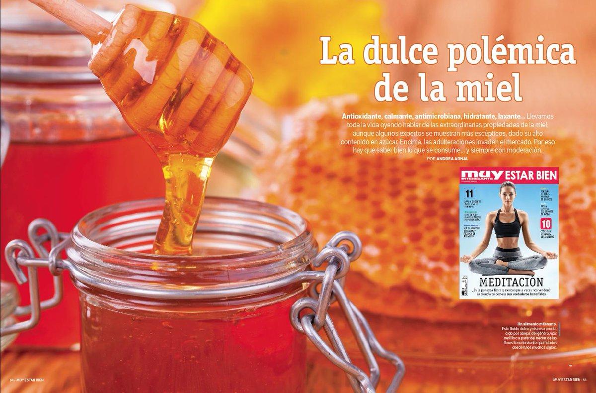 ¿Es la miel tan saludable como siempre se nos ha vendido? Algunos expertos dicen ahora que no. Te lo cuenta @AndreaArnal en la nueva revista ESTAR BIEN de Muy Interesante