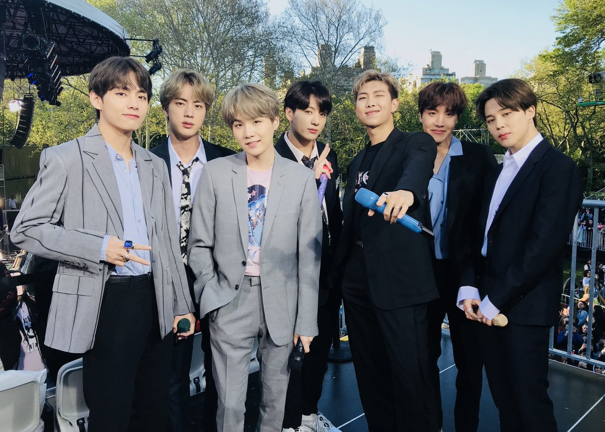 BTS_official's photo on #BTSonGMA