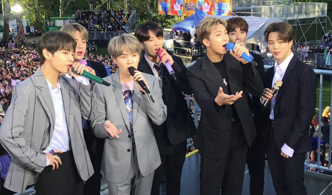 Consequence of Sound's photo on #BTSxGMA