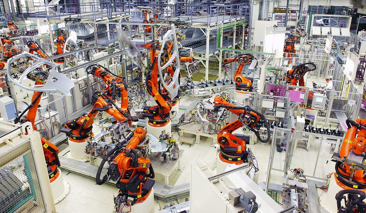 Высокотехнологичное производство в картинках