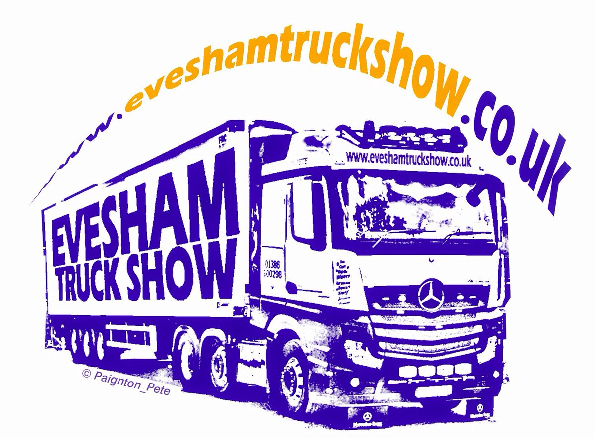Truck Show 2020.Evesham Truck Show On Twitter News Flash Look Out For