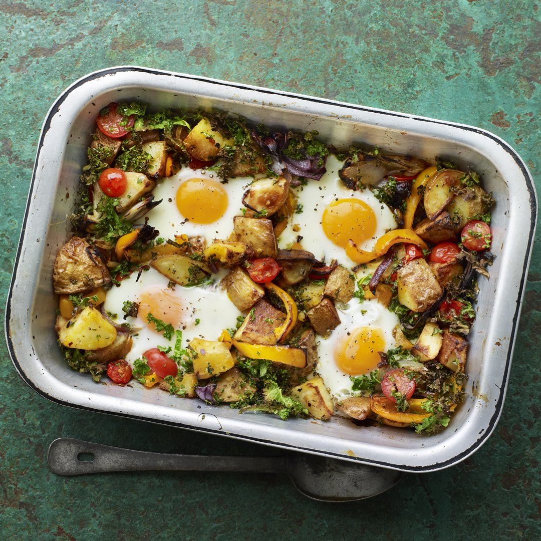 Introducing this cheap 'n' cheerful hash, bringing you crispy potatoes for brunch, lunch or dinner.  https://www.bbc.com/food/recipes/potato_hash_with_tomato_35594…