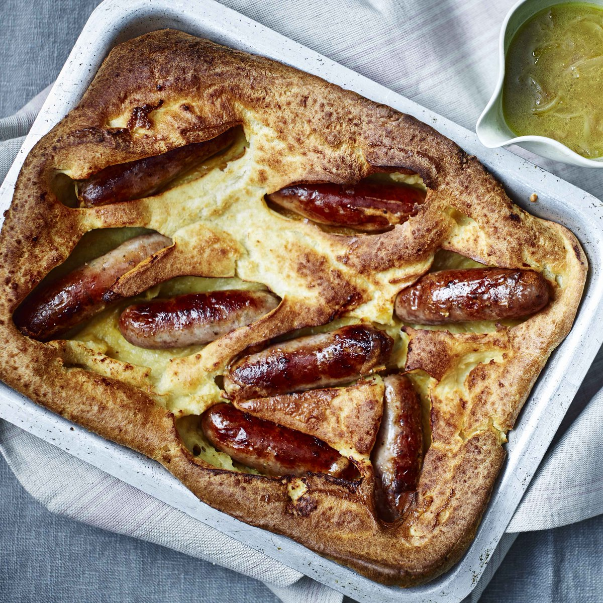 Snag one of these recipes for an easy midweek dinner https://www.bbc.com/food/collections/bangers_on_a_budget…