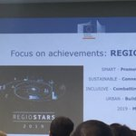 Big range of applause 👏🏻 for Interreg community who submitted 87 applications to the #regiostarsawards ⭐️ 🍀💪🏻 let's keep mobilised until the winner announcement in October during the #EURegionsWeek2019