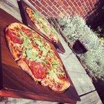 Image for the Tweet beginning: Beer Garden PIZZA anyone? 🍕☀️😎🍷 It's
