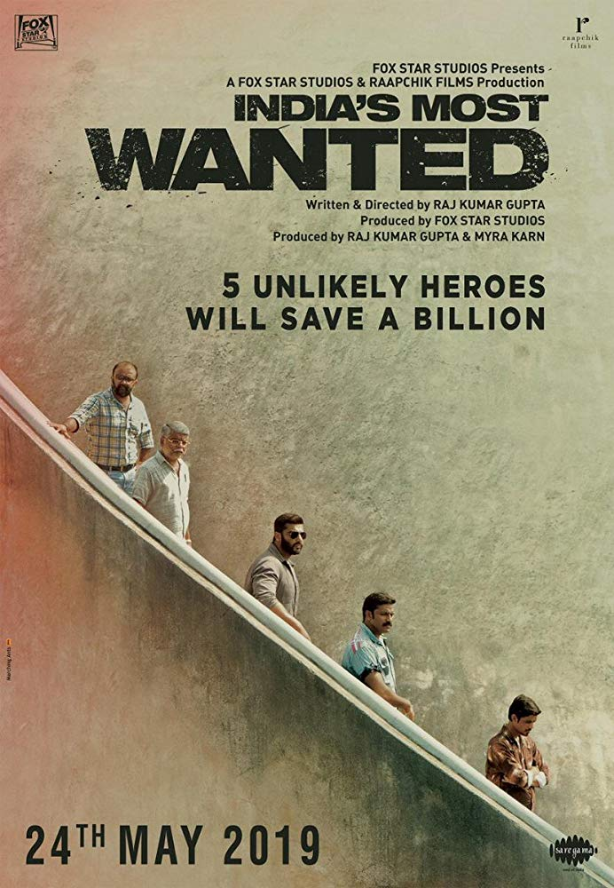 Bdrip X264 India S Most Wanted Full Movie 2019 Hd Eglish Sub