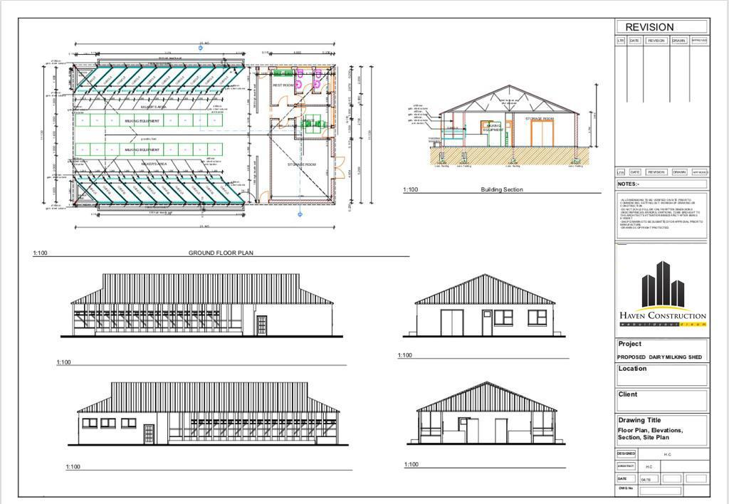 Haven Construction Pvt Ltd Na Twitteru Dairy Milking Shade Starting A Dairy Farm Or Running It In A Smart And Successful Way Starts With Advanced Dairy Farm Shed Designs If You Are