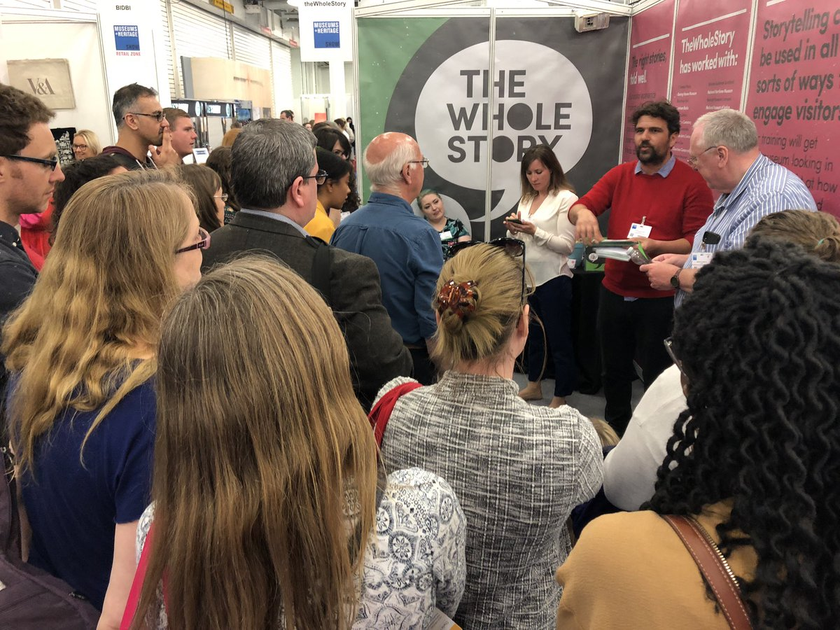 Training on challenging topics on stand B5 happening now ...