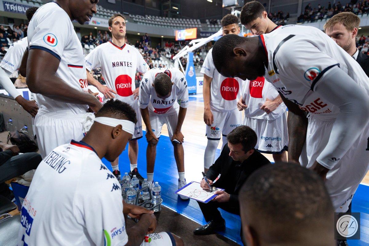 📊 Plus que 2 jours avant la réception de @SCBVG ! Focus sur les 5 derniers résultats des 2 équipes ⤵️  @NantesBasket44 ➡️ ❌✅✅✅❌ @SCBVG ➡️ ❌❌✅❌✅  #LNB #PROB #NBHSQUAD