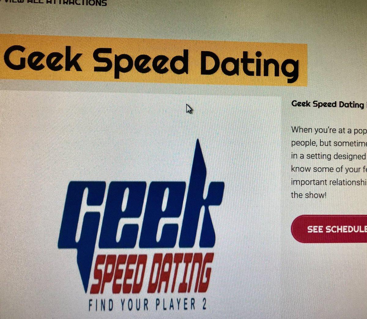 Comic Con Speed Dating Show randki w odstępie dwóch lat