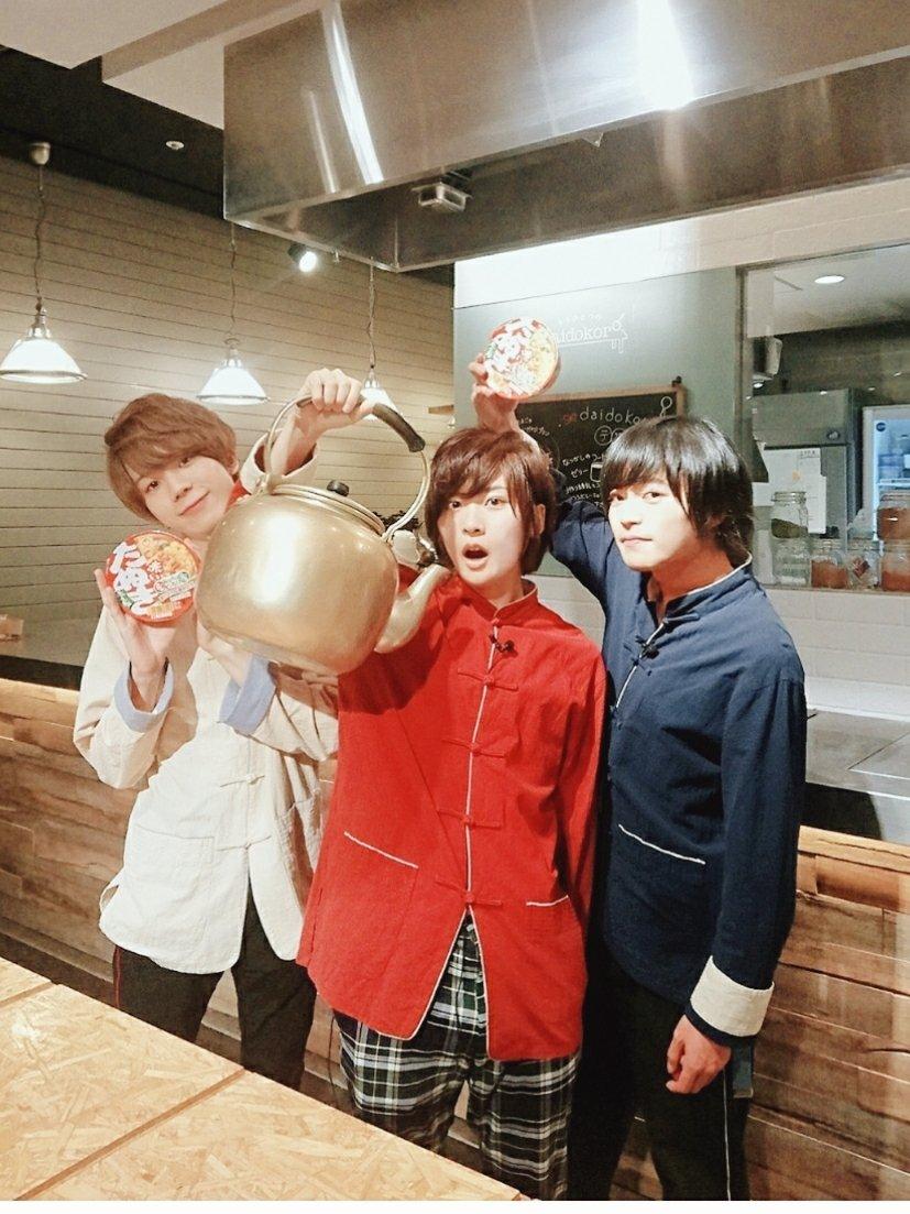 ラーメン男子13杯目!ありがとうございましたー!まさかのキッチンスタジオ!お洒落になってリニューアル!✨✨2年目もよろしくお願いします!!