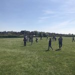 Image for the Tweet beginning: Sixth Formers enjoying games of