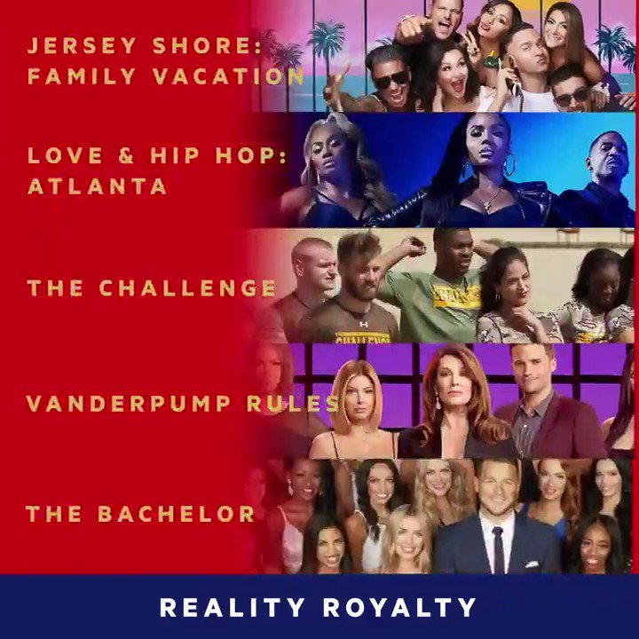 It's a Reality Royalty showdown at the 2019 @MTVAwards! 👊👑❗️  Vote now for your fave to win at http://vote.mtv.com + watch the #MTVAwards on June 17 on MTV.