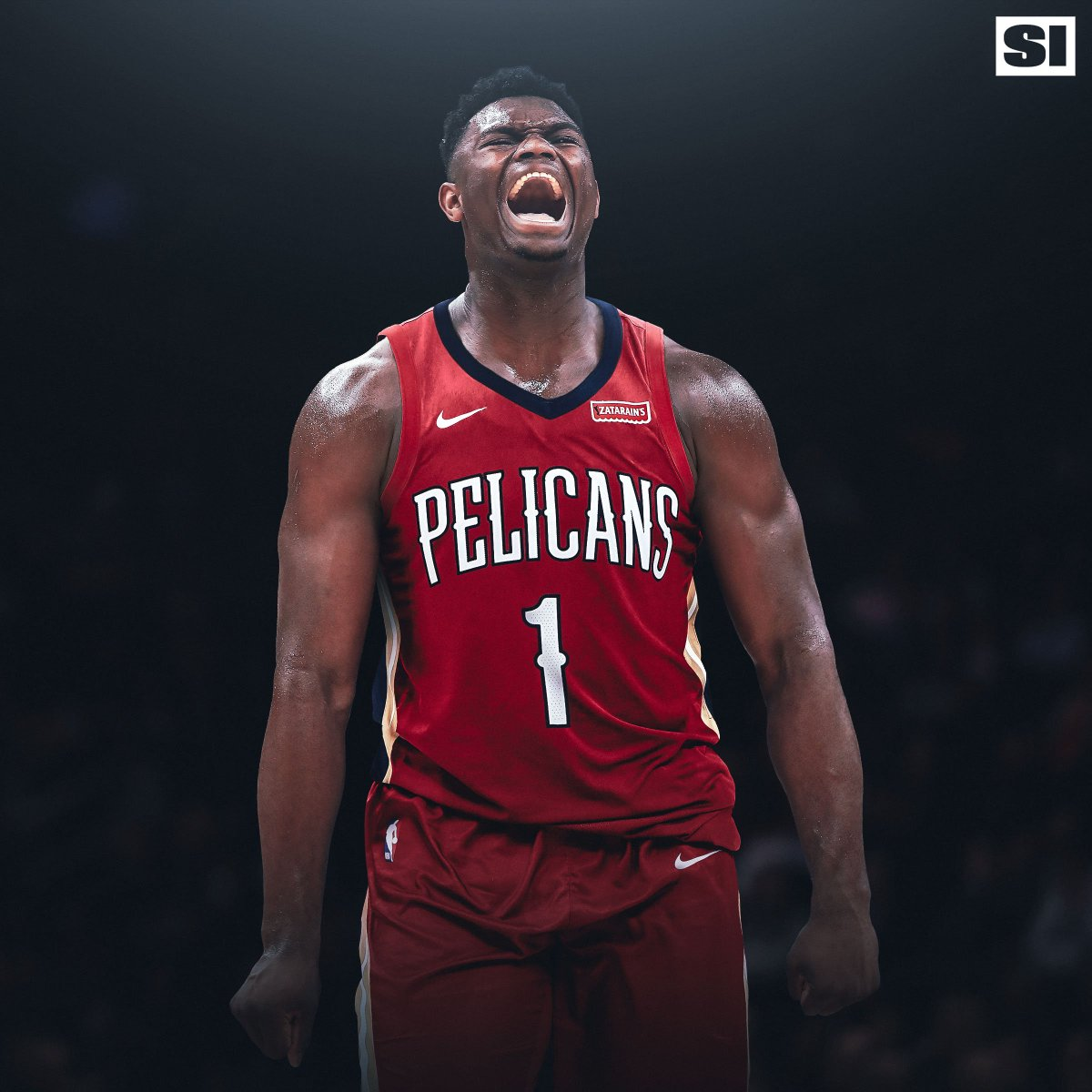 "hot sale online bd9b0 1621d The Crossover ar Twitter: ""NBA Mock Draft: 1. Pelicans: Zion ..."
