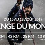 Image for the Tweet beginning: Du 15 au 18 aout
