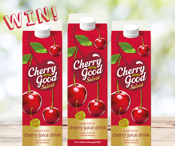 Win a Month's Supply of Free Cherry Good!   Put the Cherry on Top of your May with a month's worth of Cherry Good vouchers... For the chance to Win Follow, Retweet &amp; Reply! UK Only, Ends 29/05 9am, T&amp;Cs Apply #FreebieFriday <br>http://pic.twitter.com/UsoLCIxFUA