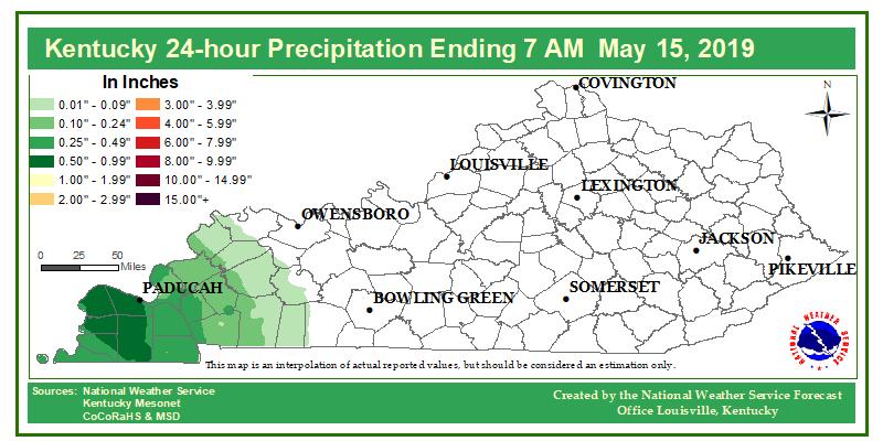 24 hour rainfall through Wednesday morning. #inwx #kywx #lmkwx
