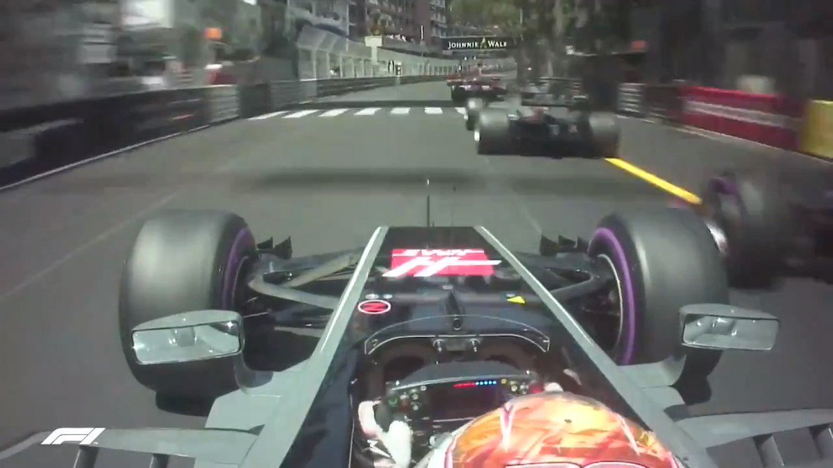 Track position is key in Monaco 🇲🇨  Kevin knew that! Check his superb start in 2017 when he took two cars into Sainte Devote.