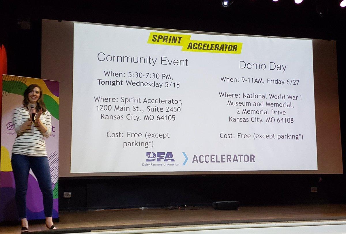 Sprint Accelerator (@SprintAccel) | Twitter
