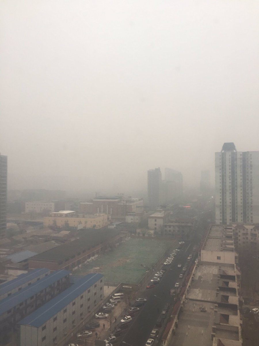 Teniendo flashbacks de Beijing #CDMX #ContigenciaAmbiental