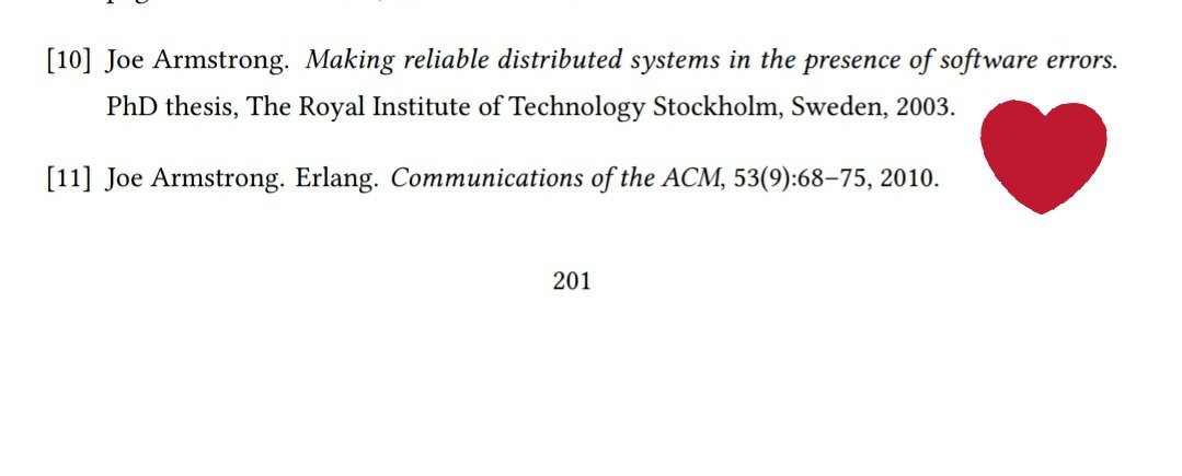 Distributed system thesis