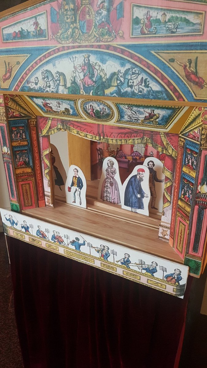 #MuseumWeek theme for the day is #PlayMW! Dickens was fascinated by #Victorian toy theatres all his life. As a child he used it to immerse himself in his make believe world of imagination. Hed construct & work it with the help of his brothers. Come & have a play in our nursery!