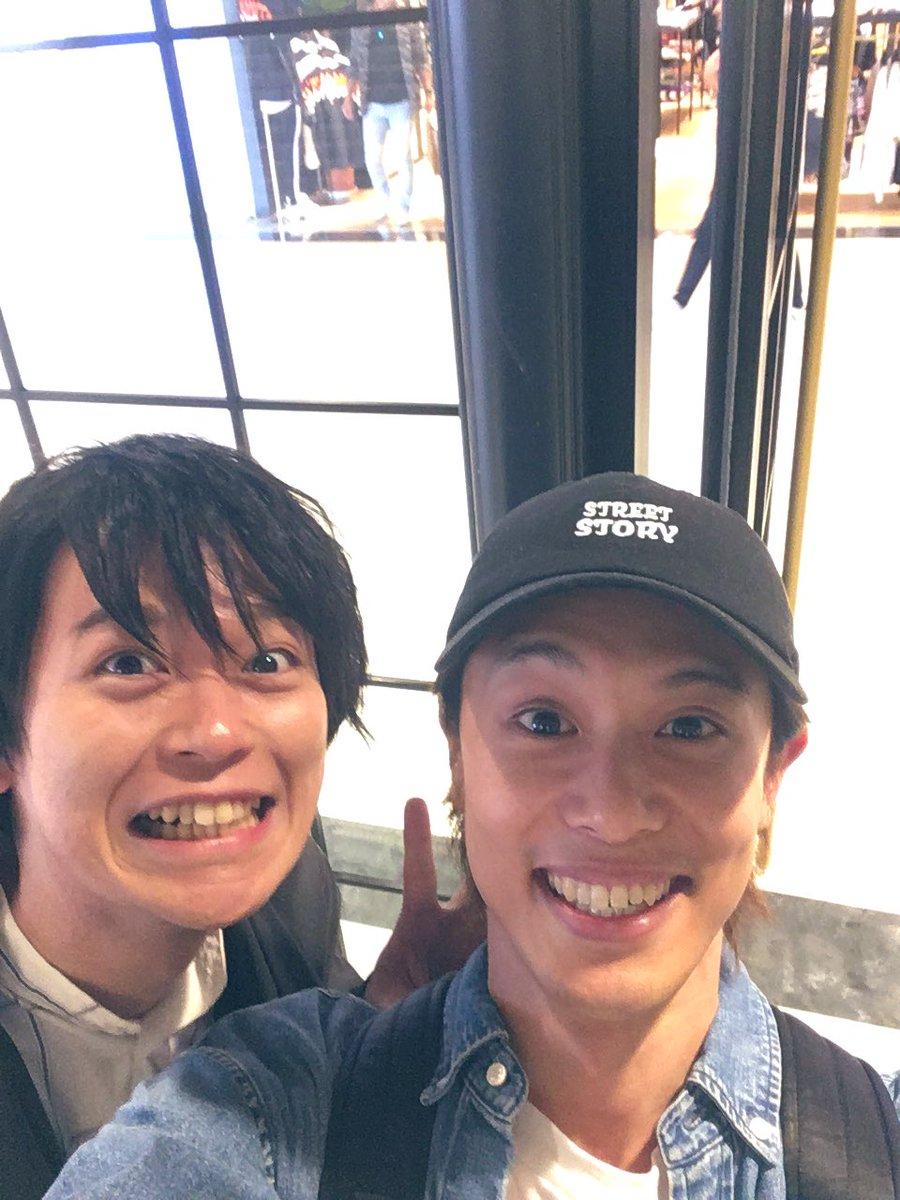 タワレコ横浜店で土岐くんと遭遇‼️土岐隼一『約束のOverture』みんなチェックだぜ😎‼️