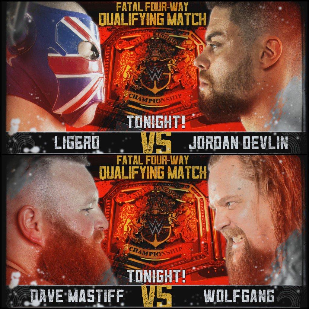 TONIGHT on @WWE @NXTUK!@Ligero1 vs @Jordan_Devlin1@viperpiperniven vs @jmehytr @UNBESIEGBAR_ZAR DEBUT@XiaBrooksideWWE vs @Kelly_WP@DaveMastiff vs @WolfgangYoung8PM UK / 3PM US EST on @WWENetwork #NXTUK