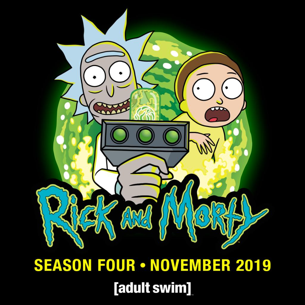 November. Rick and Morty is returning in November. #WarnerMediaUpfront @adultswim