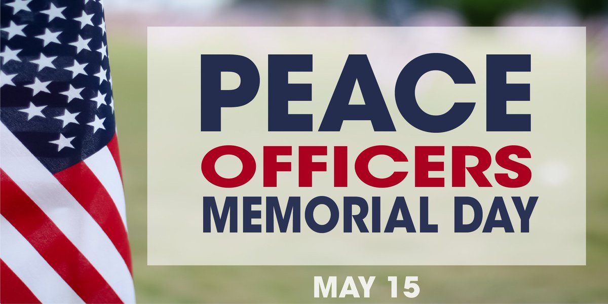 We want to thank law enforcement officers everywhere for your hard work, dedication, and bravery. #PeaceOfficersMemorialDay #PoliceWeek2019 #LawEnforcement<br>http://pic.twitter.com/BTH5TISS3d