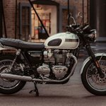 Image for the Tweet beginning: Triumph TE-1 electric motorcycle project