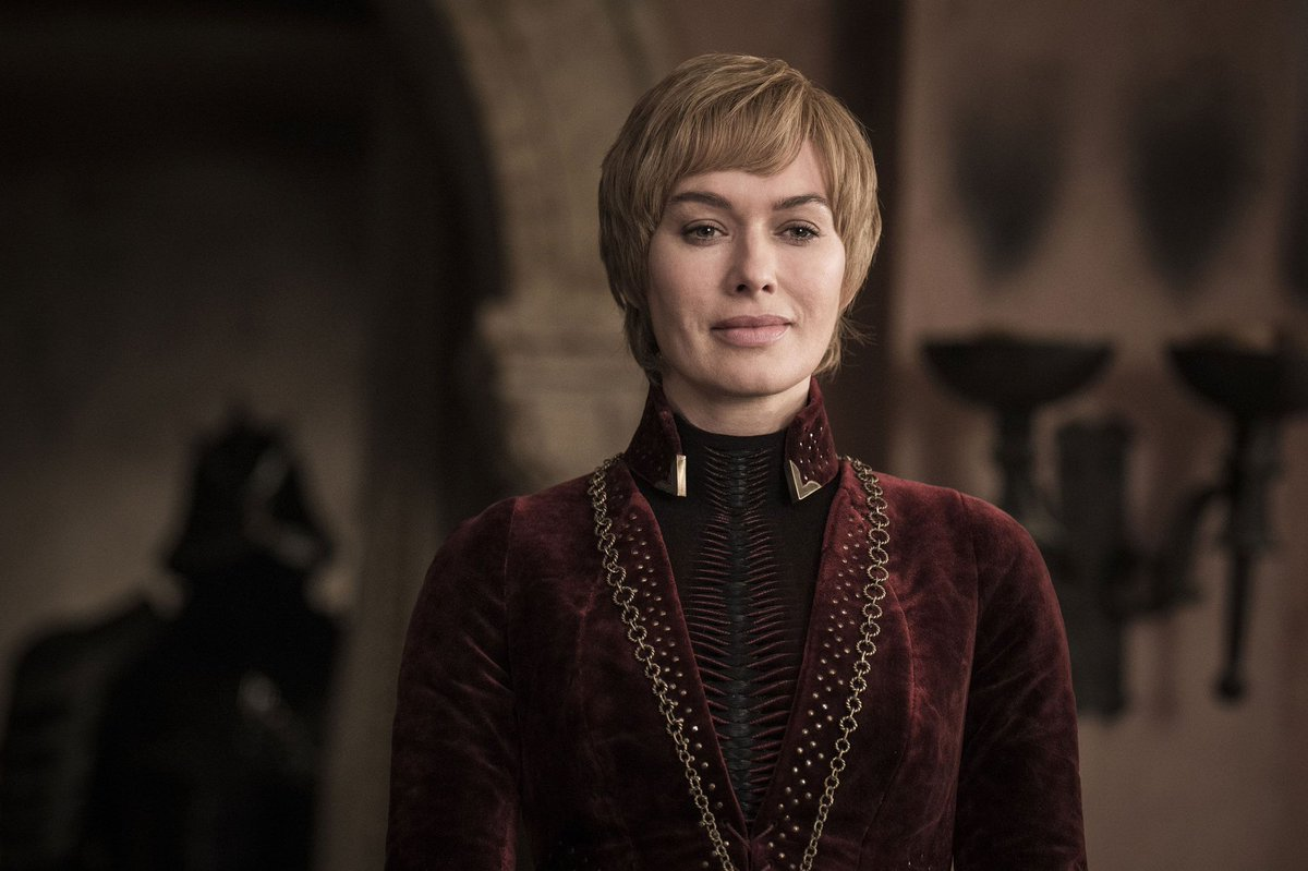 A big shout out to Lena Headey who made $1,000,000 an episode this season for standing at a window drinking a glass of wine. An icon  #GameofThrones