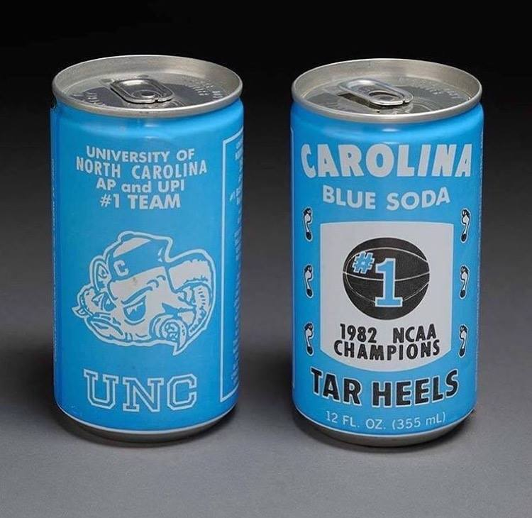 It's #MuseumWeek! Today's theme is #PlayMW, so we're throwing it back to these @UNC Commemorative 1982 NCAA Champions soda cans. <br>http://pic.twitter.com/Jp6QMeIVx2