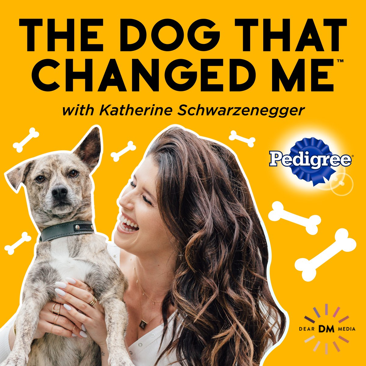 """""""The Dog That Changed Me"""" with adoption advocate @kschwarzenegger is out now! Listen to interviews with Mandy Moore, Bryce Dallas Howard, Haylie Duff and Minka Kelly about their pups. #EveryPupsSuperpower Link: https://t.co/6K53sop2pH https://t.co/RbAi5FvAQG"""