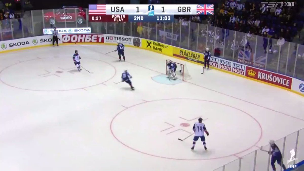 "Terrific pass from Quinn Hughes!"" Get used to hearing that a lot #Canucks fans! 😍 #IIHFWorlds"