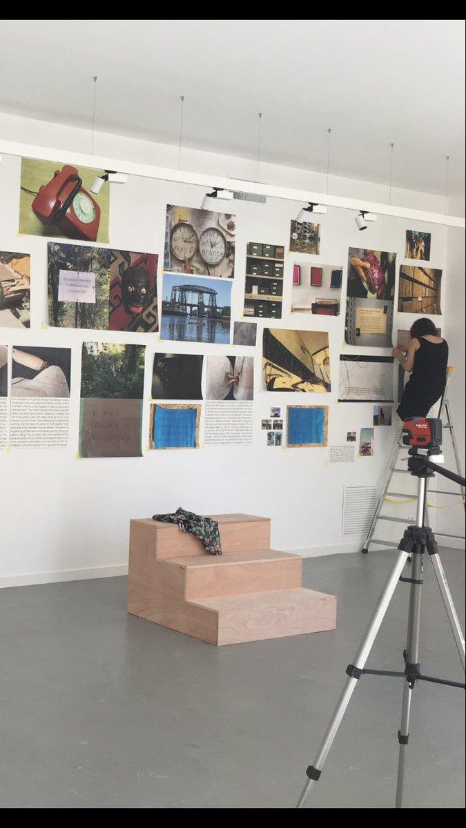 """Galerie D Art Bourges dsra - document & art contemporain on twitter: """"montage d"""