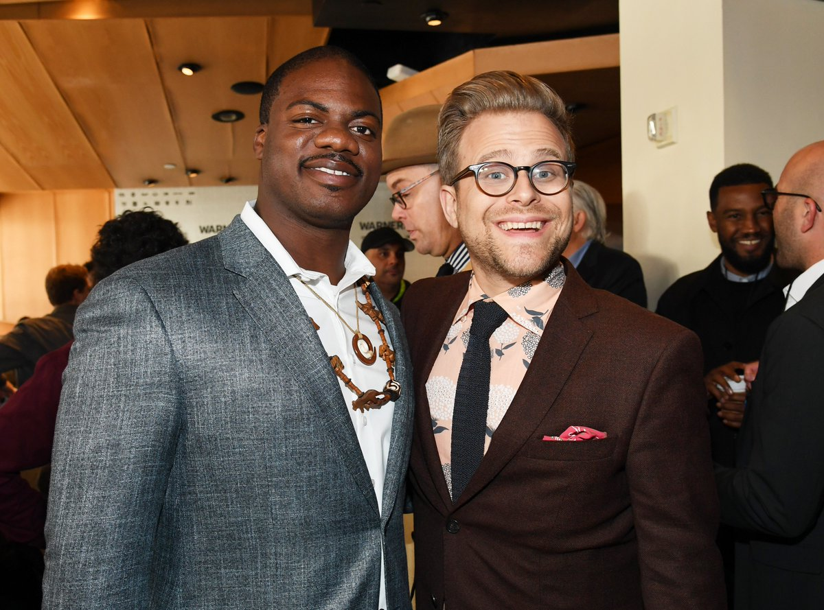 We could get behind this crossover episode. #TacomaFD #AdamRuins #WarnerMediaUpfront <br>http://pic.twitter.com/uLtM9uDe3i