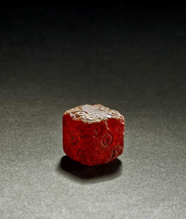 A Roman dice made from amber. 1st-2nd century CE. From Aquileia, central Italy. (British Museum, London)  http:// ancient.eu/image/7257/rom an-amber-dice/roman-amber-dice/   …    Image © by The British Museum   #MuseumWeek #PlayMW <br>http://pic.twitter.com/y2R6JovBYM