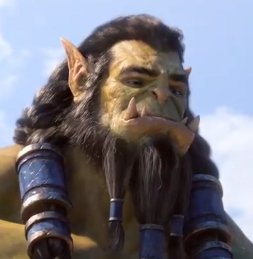 It&#39;s just Thrall, making cute faces. That&#39;s it. That&#39;s the post. <br>http://pic.twitter.com/GKxdrKykKn